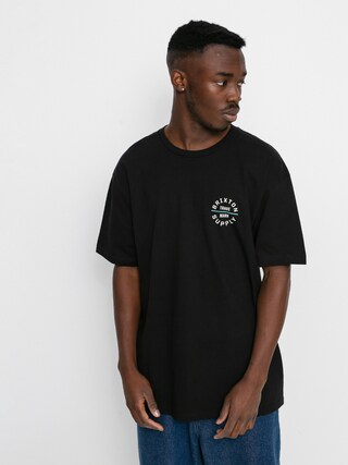 T-shirt Brixton Oath V Stt (black/cream)