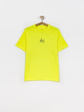 T-shirt eS Mini Script (lime)