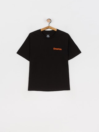 T-shirt Emerica Pure Logo (black/orange)