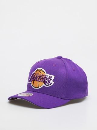 Czapka z daszkiem Mitchell & Ness Los Angeles Lakers (purple)