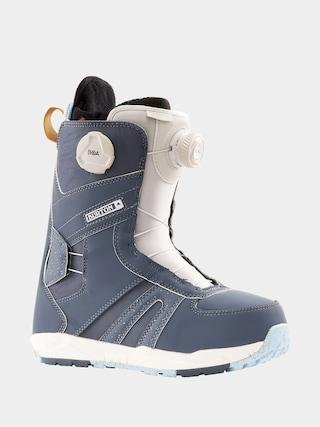 Buty snowboardowe Burton Felix Boa Wmn (blue gray)