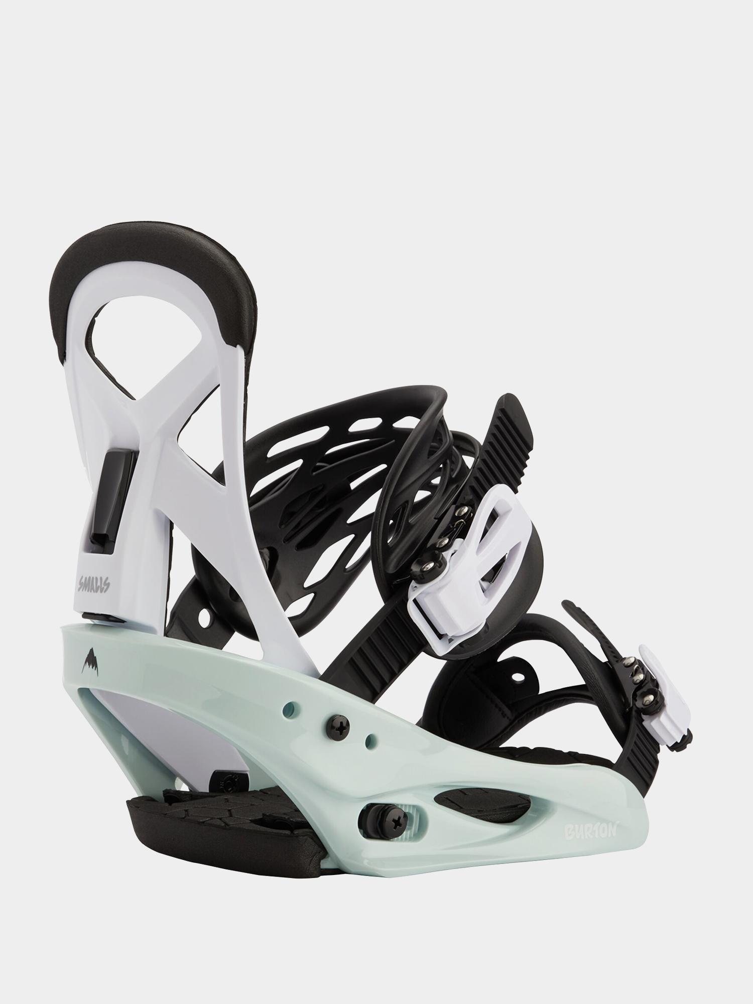 Wiązania snowboardowe Burton Smalls (neo mint/white)