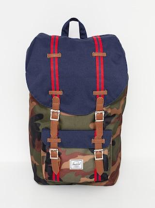 Plecak Herschel Supply Co. Little America (woodland camo/peacoat/tan)