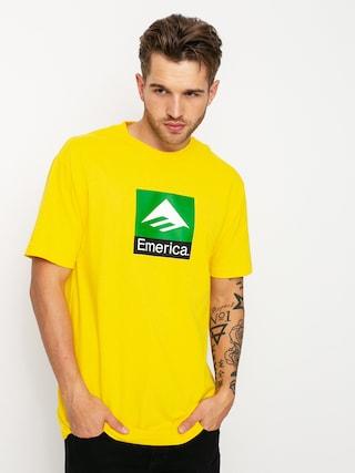T-shirt Emerica Classic Combo (yellow)
