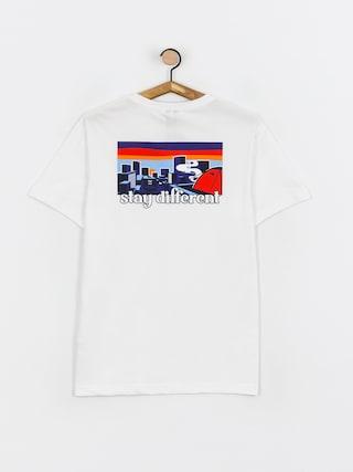 T-shirt Iriedaily City Camping (white)