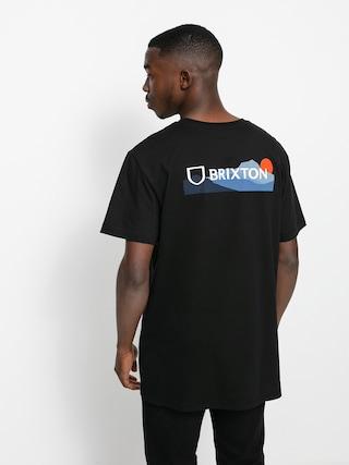 T-shirt Brixton Alpha Block Tlrt (mountain black)