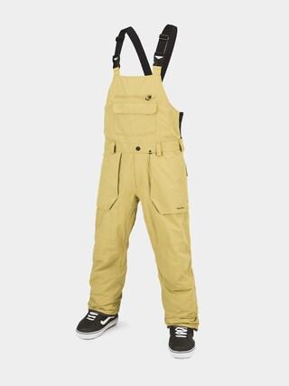 Spodnie snowboardowe Volcom Roan Bib Overall (gold)
