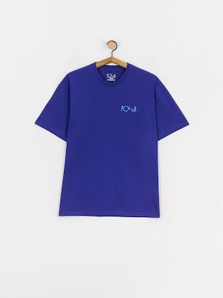 T-shirt Polar Skate Stroke Logo (purple)