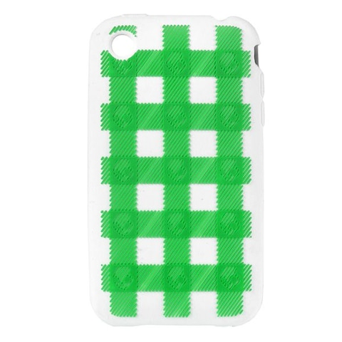 Pokrowiec na iPhona Skullcandy Soft Sleeve (plaid lime)