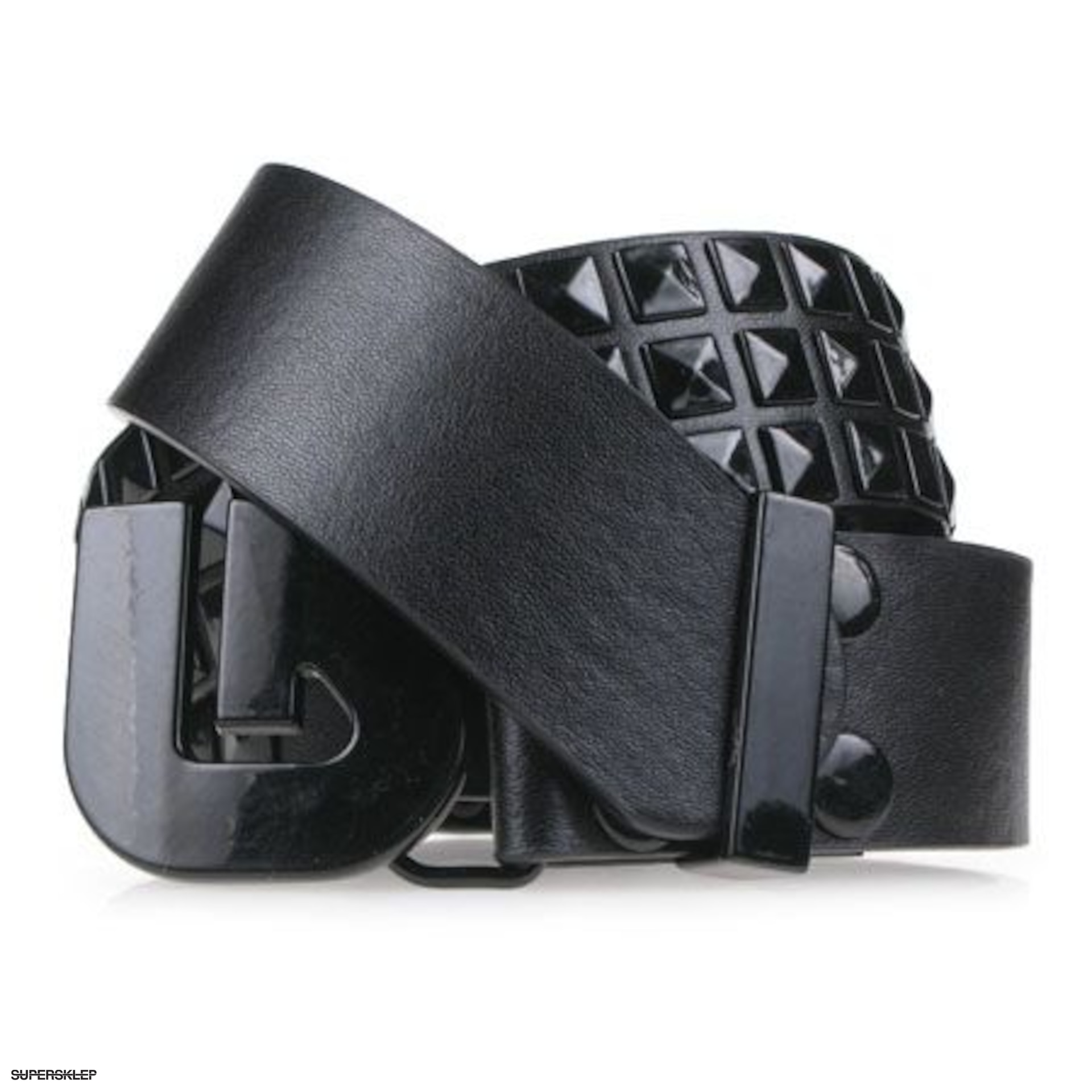 57659c920440b6 Pasek Burton Studded (true black)