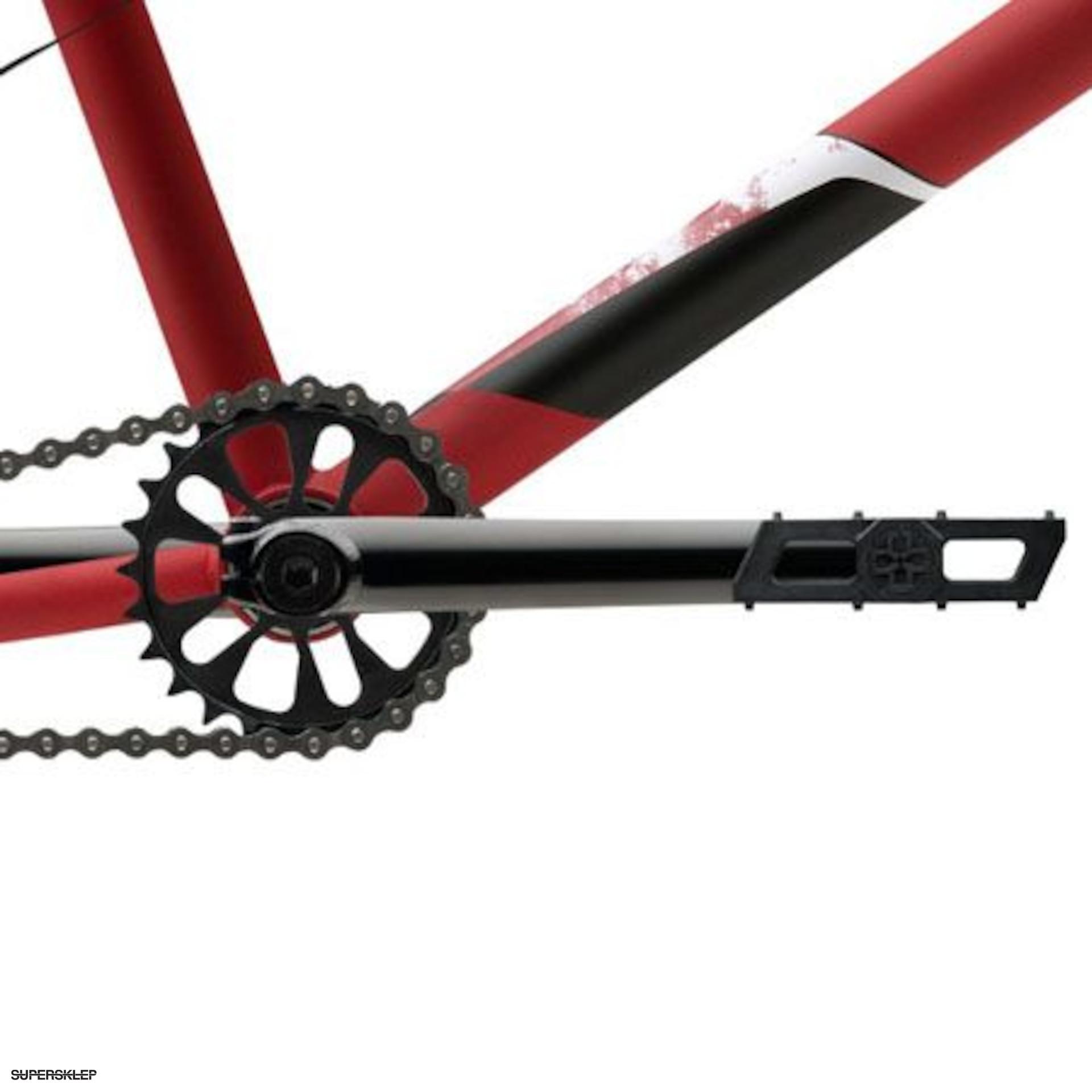 Rower BMX Verde Vex (czerwony)