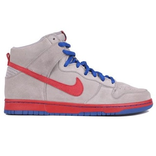 super popular 1d4e1 db480 ... sweden buty nike sb dunk high premium medium grey varsity red 76afe  ef0f6