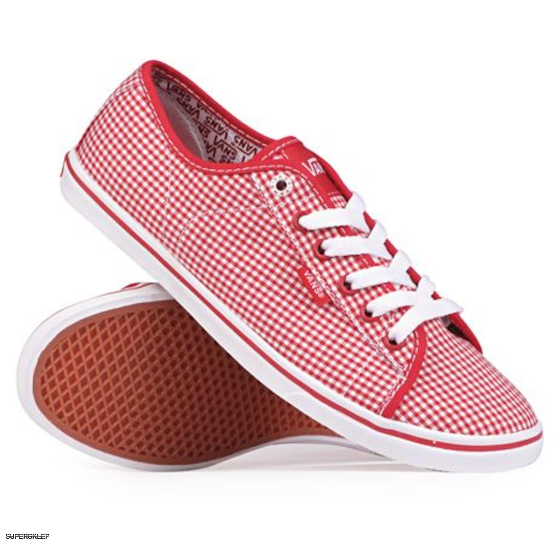 2215e98caf9157 Red Ferris gingham Vans Buty Lo Pro Wmn 5gYaYZ7n