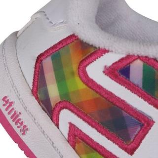 Dziecięce buty Etnies Toddler Fader (white/white/pink)