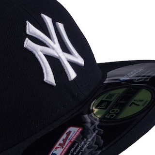 Czapka z daszkiem New Era Authentic NY Yankees On Field Game (navy white) d5efc2b4078
