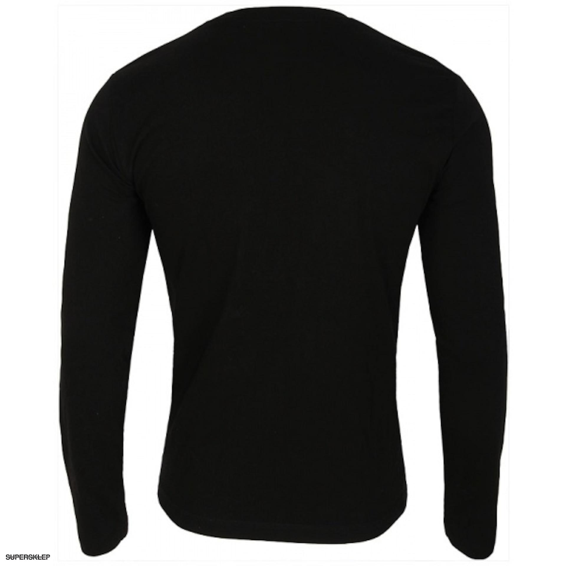 d0e6ee0e8 Koszulka męska z długim rękawem 4F TSML005 – czarna