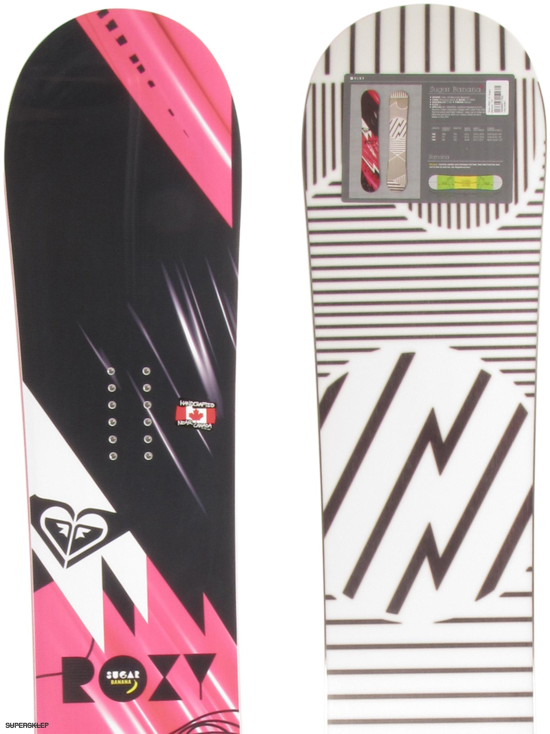 d30a8f0f3c Deska snowboardowa Roxy Sugar Banana Wmn