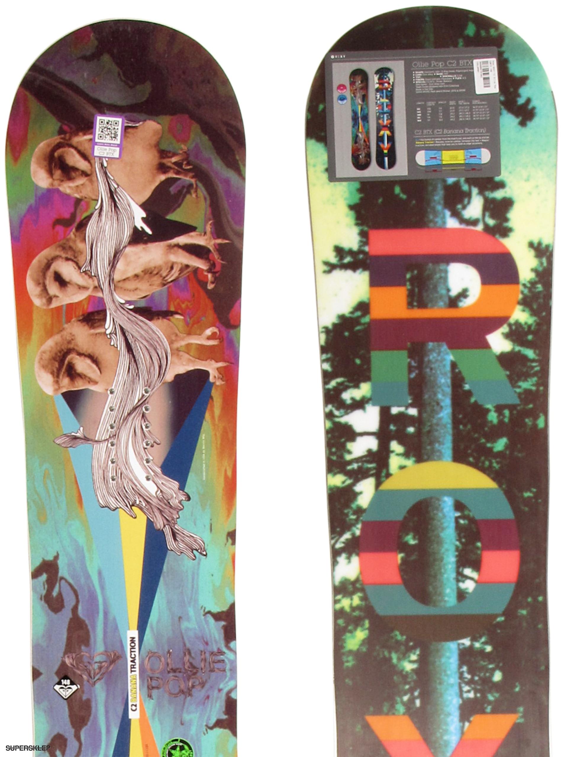 Deska snowboardowa Roxy Ollie Pop C2BTX Wmn 148 9cabd1f0a2