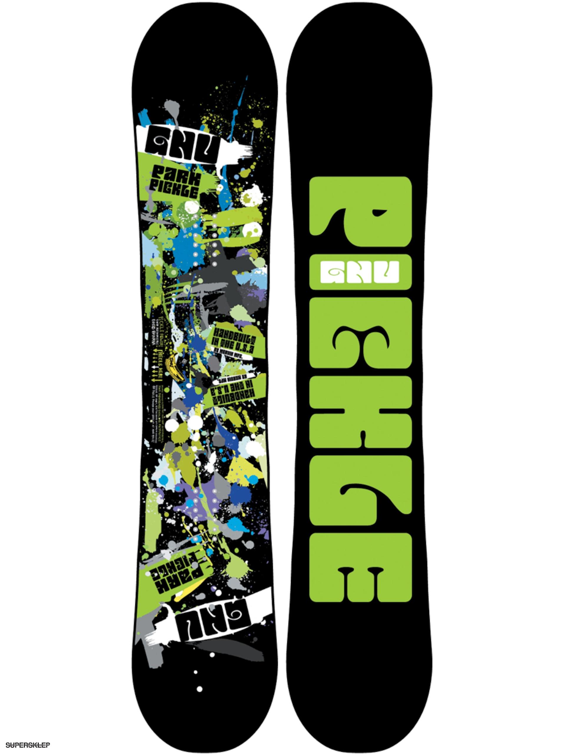 Deska snowboardowa Gnu Park Pickle BTX 156 (ast) 54569db98d