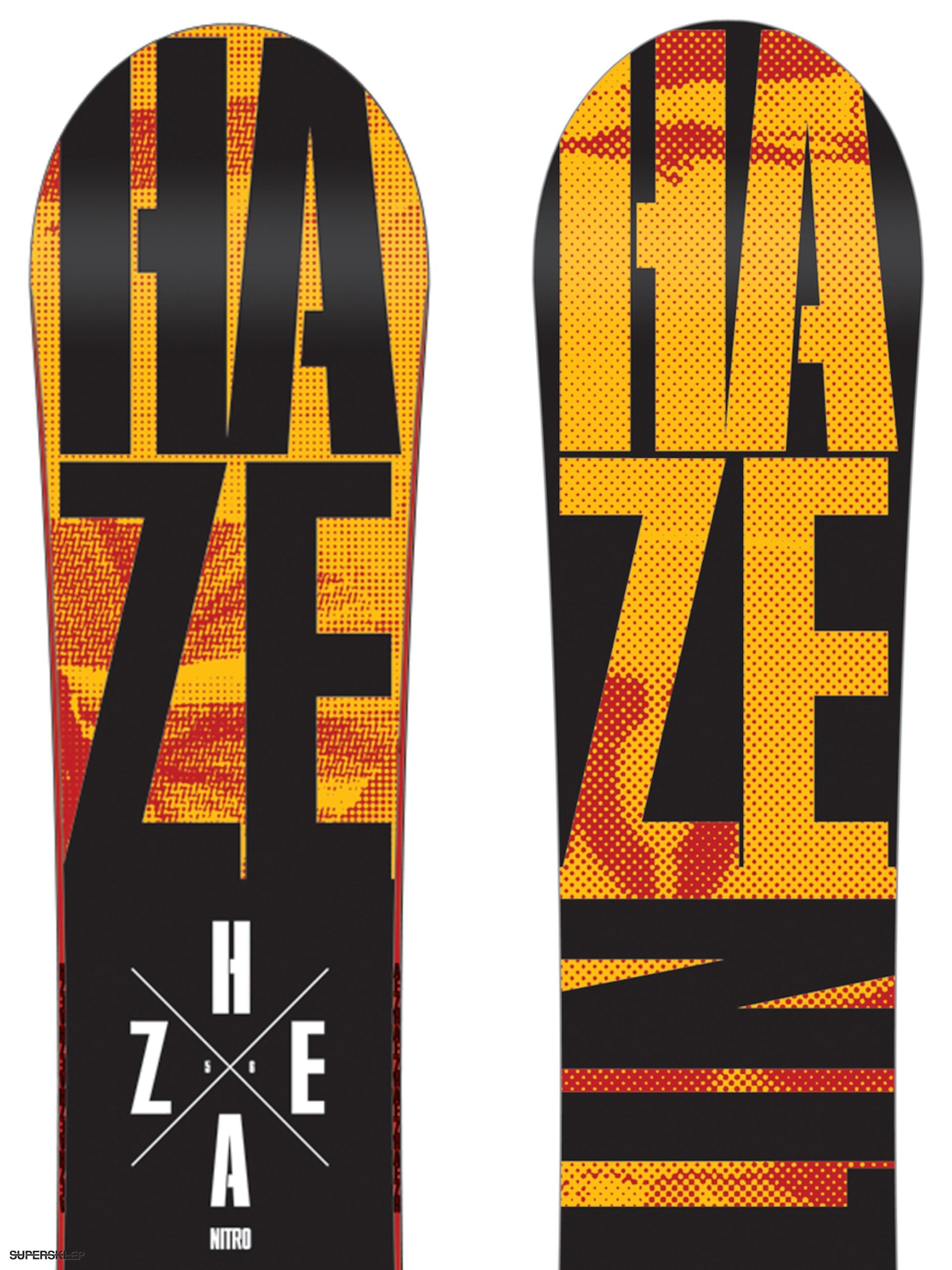 Deska snowboardowa Nitro Haze 156 4e0635fbff