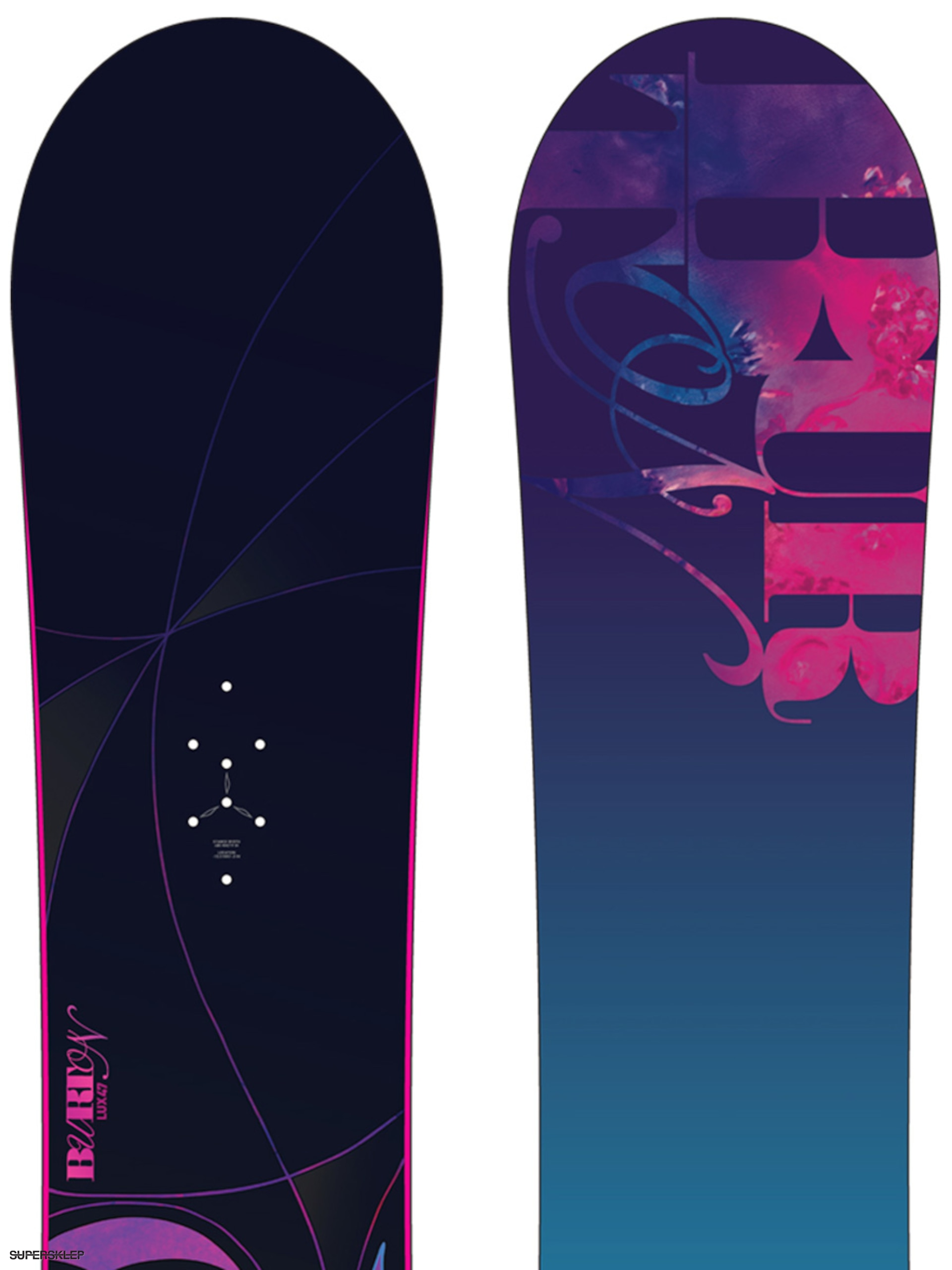 Deska snowboardowa Burton Lux Wmn 147 (blue purple) 5dbb97c889
