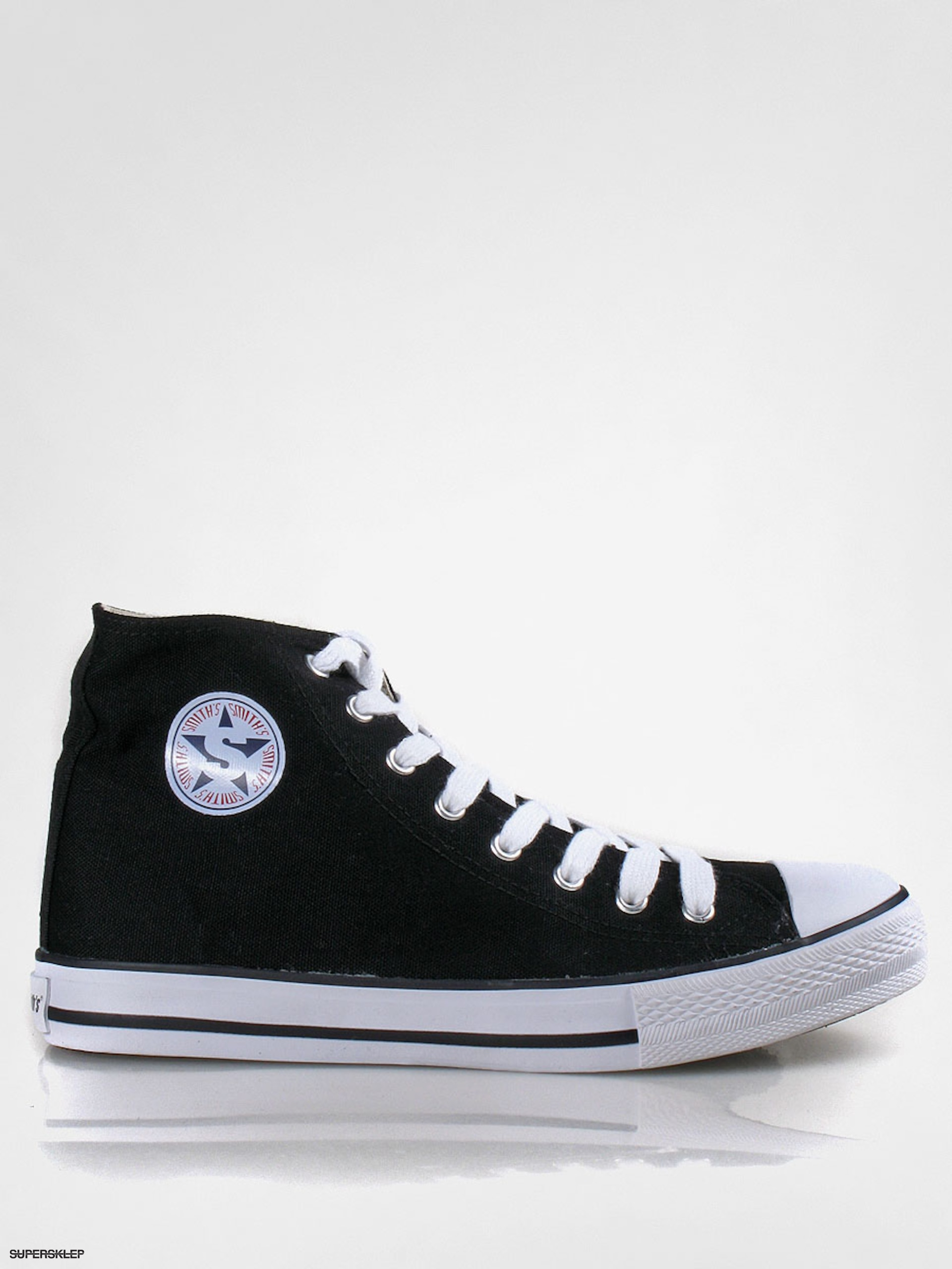 Trampki Smith's Wysokie (black)