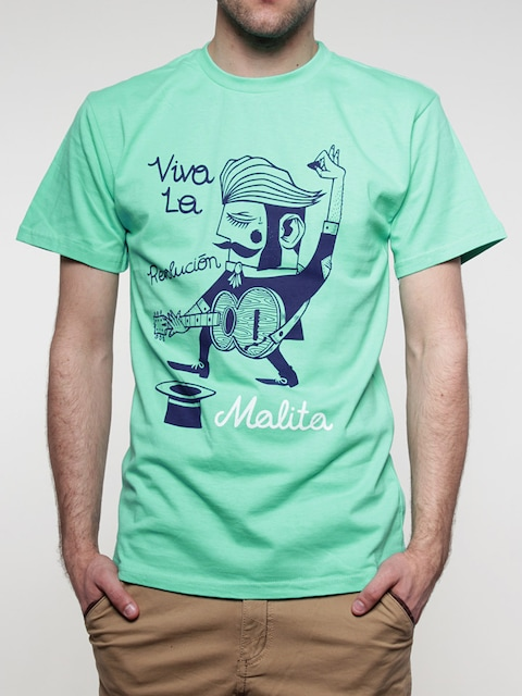 T-Shirt Malita Revolution (mint)