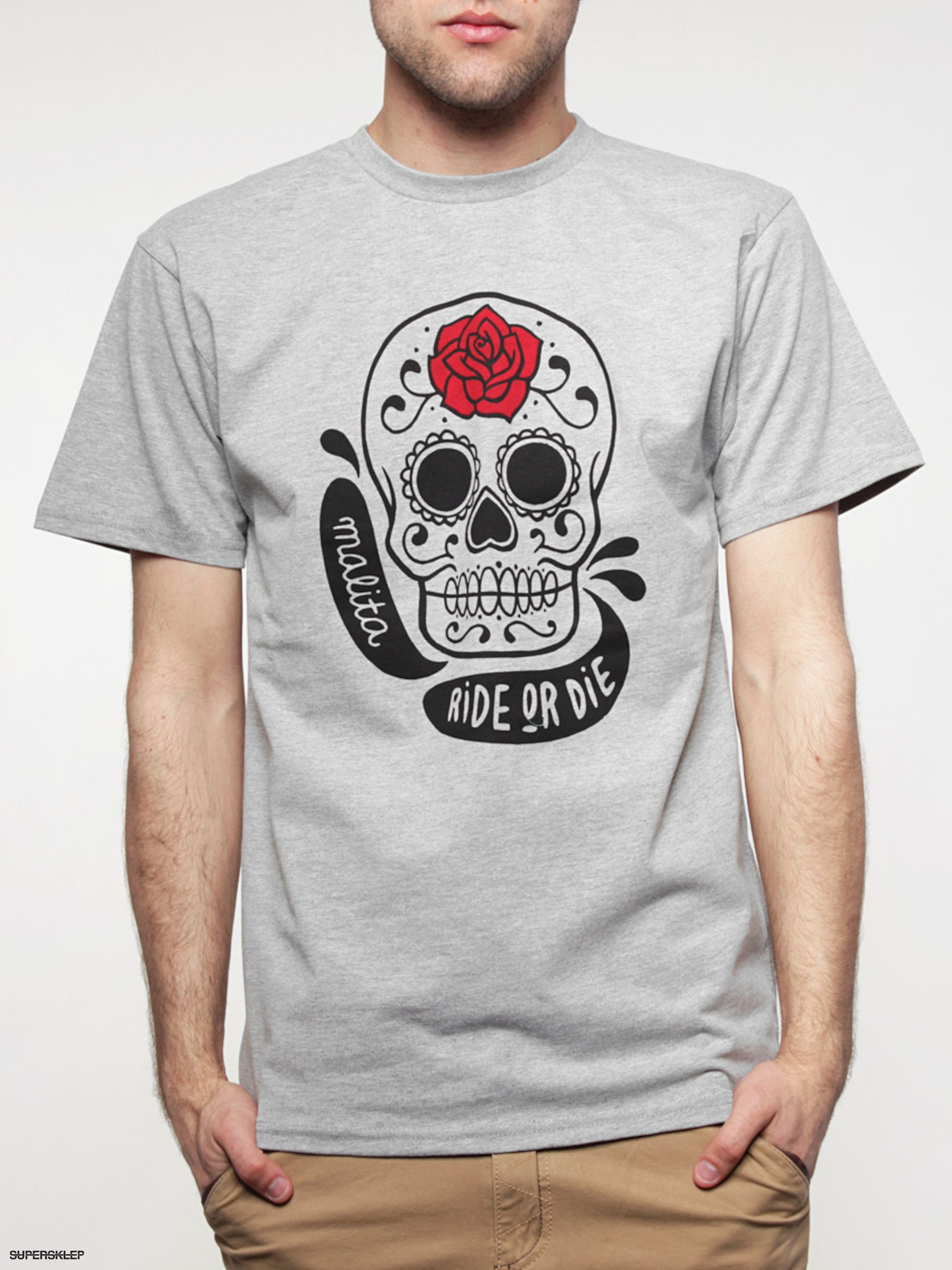 T-Shirt Malita Mexico (h-grey)