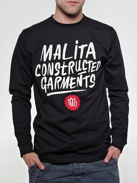 Longsleeve Malita Constructed Brush (black)