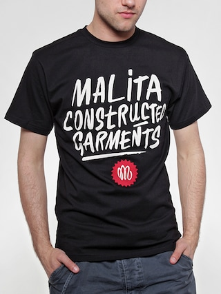 T-Shirt Malita Constructed Brush (black)