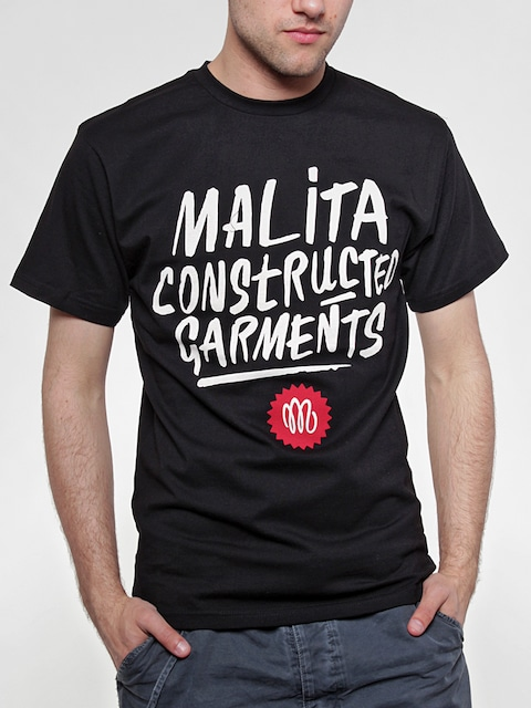 T-Shirt Malita Constructed Brush