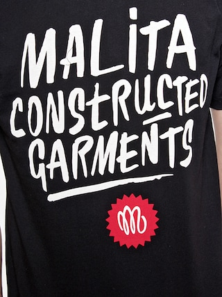 T-Shirt Malita Constructed Brush (black)