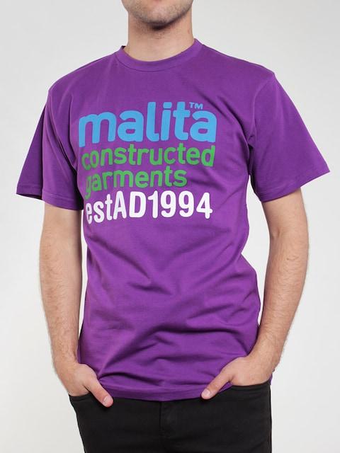 T-Shirt Malita Constructed (violet)
