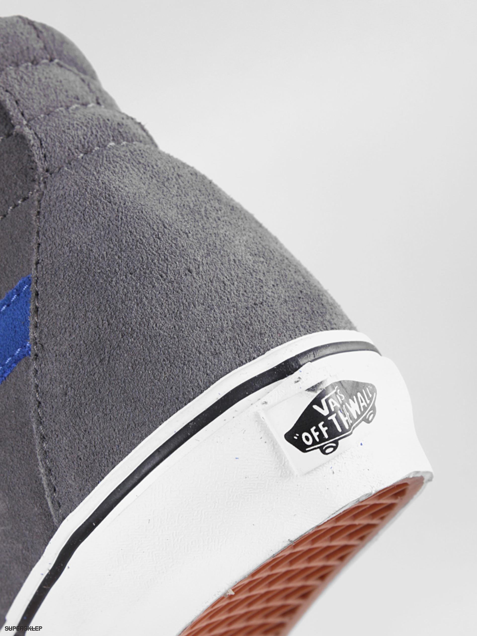 Buty Vans Sk8 Hi (suedepewtertrue blue)