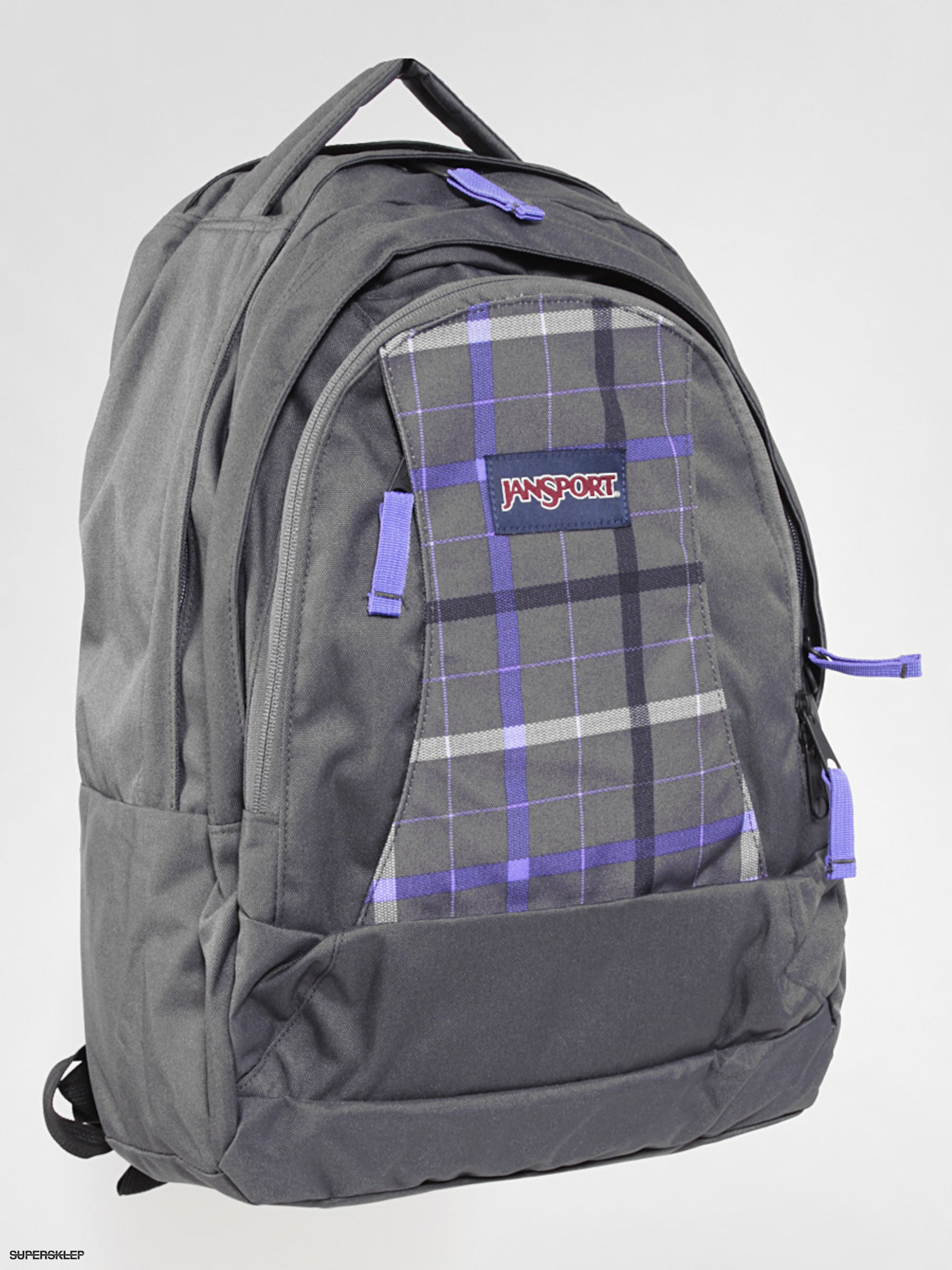 ad25ac6b2e070 Plecak Jansport Essence (forge grey london plaid)