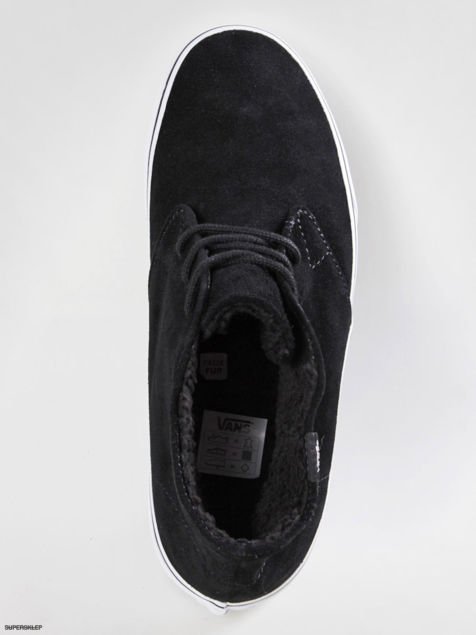 0d904aadd7 Buty Vans Chukka Decon (fleece lining black)