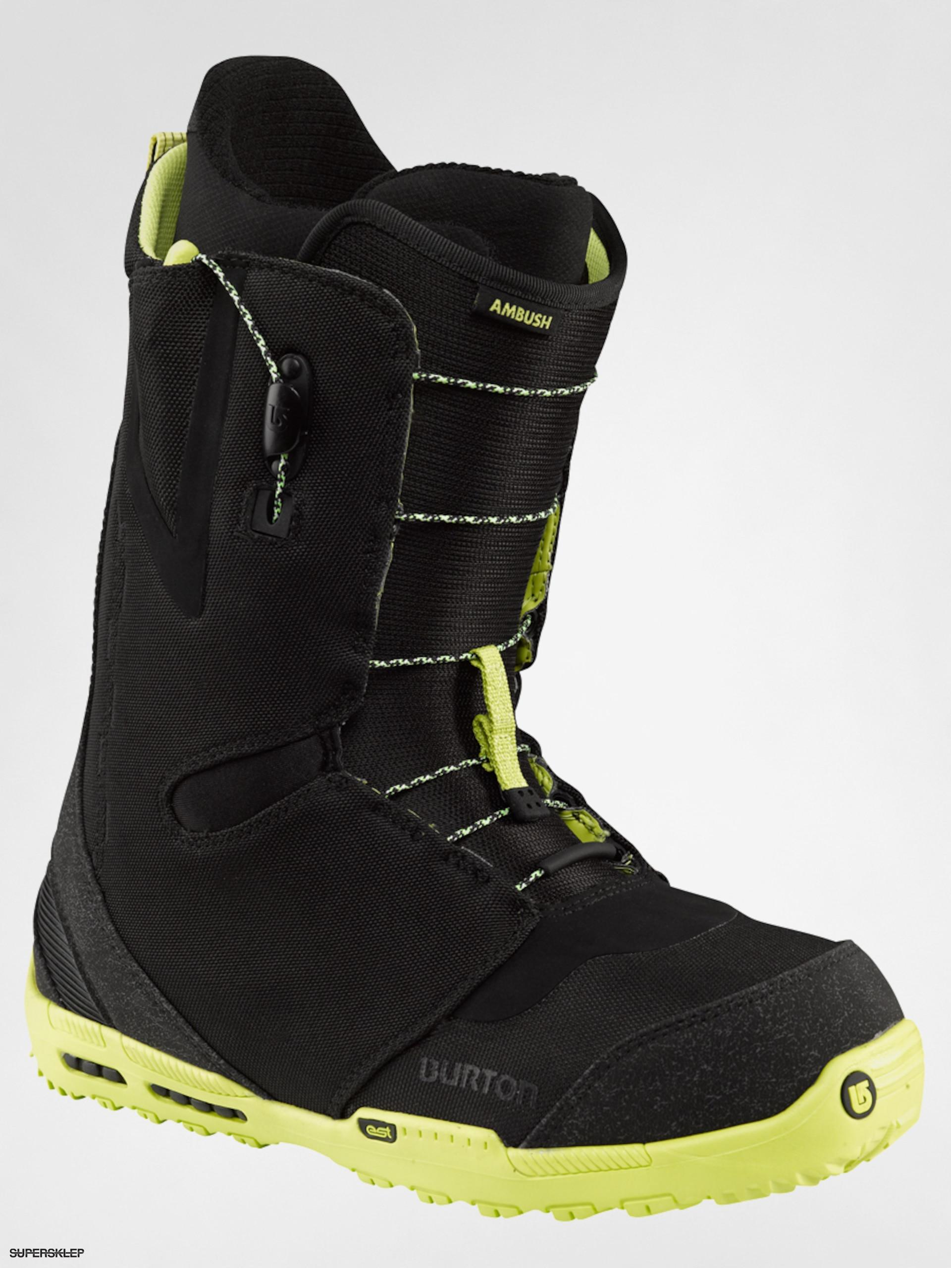 Buty snowboardowe Burton Ambush (blacklime)