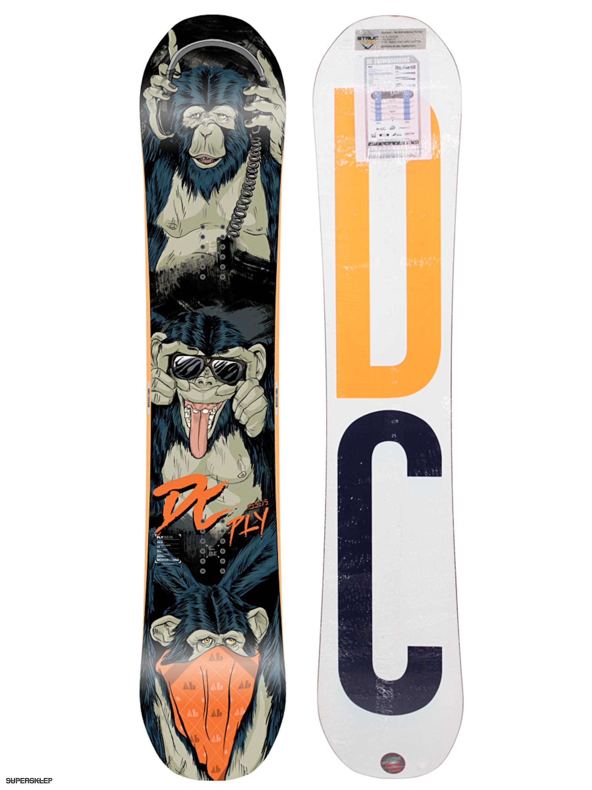 Deska snowboardowa DC Ply Hybrid (white) 3d4d18ac66