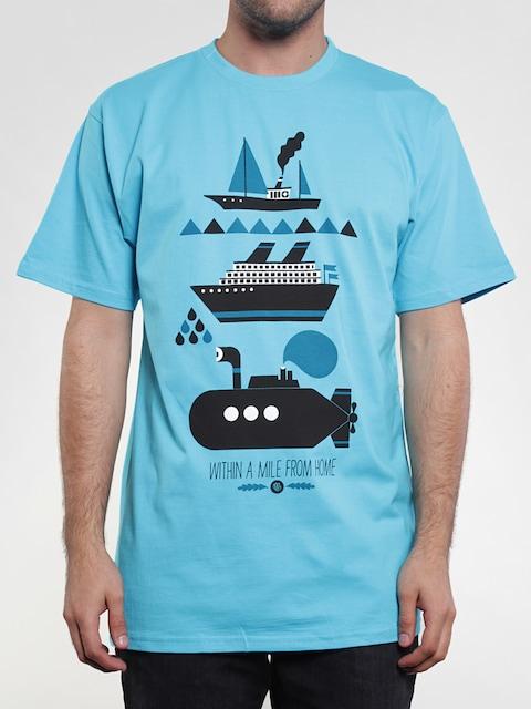 Koszulka Malita Shipwreck (blu)