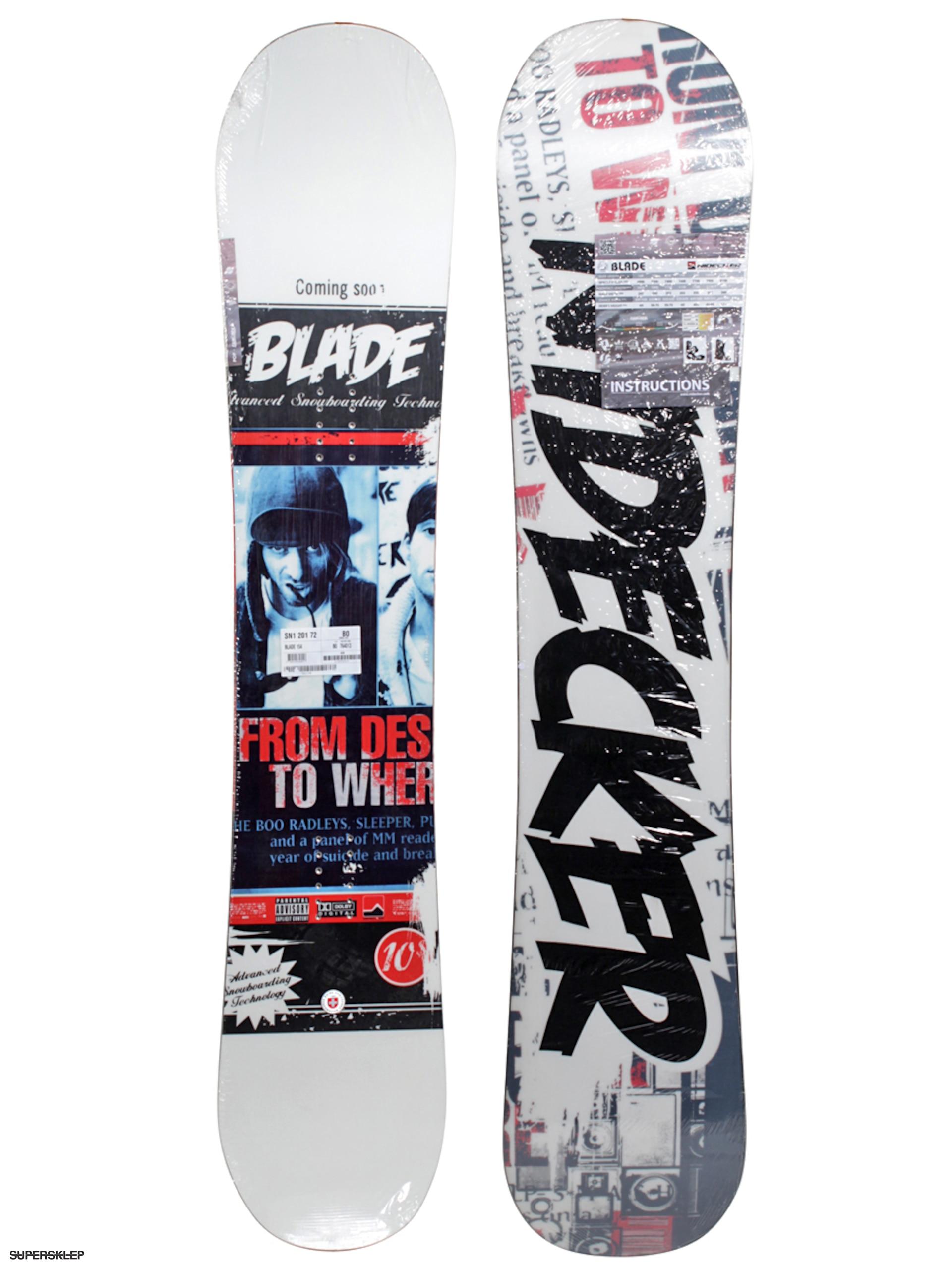 Deska snowboardowa Nidecker Blade Camrock d24696ac50