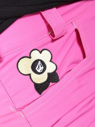 Dziecięce spodnie snowboardowe Volcom Tweet Ins (pink)