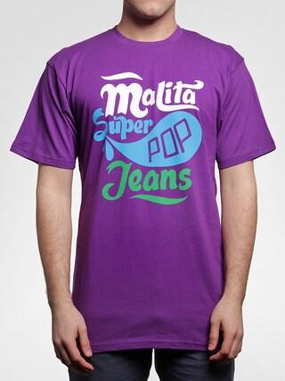 Koszulka Malita Pop (violet)