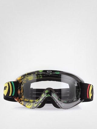 Gogle Crossowe Dragon MDX-L AFT (rasta icon/clear) 1502