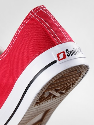 Trampki Smith's Niskie (red02)