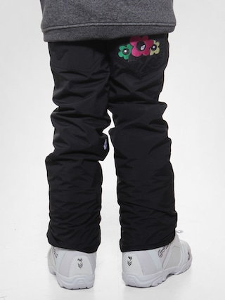 Dziecięce spodnie snowboardowe Volcom Tweet Ins (black))