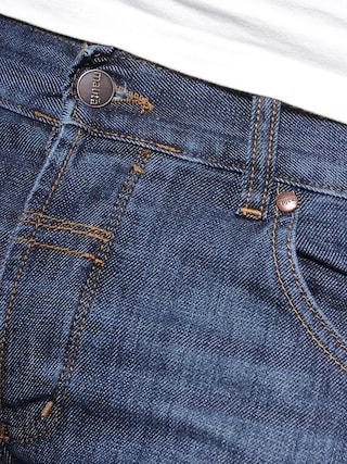 Spodnie Malita Silver Line (granatowy)