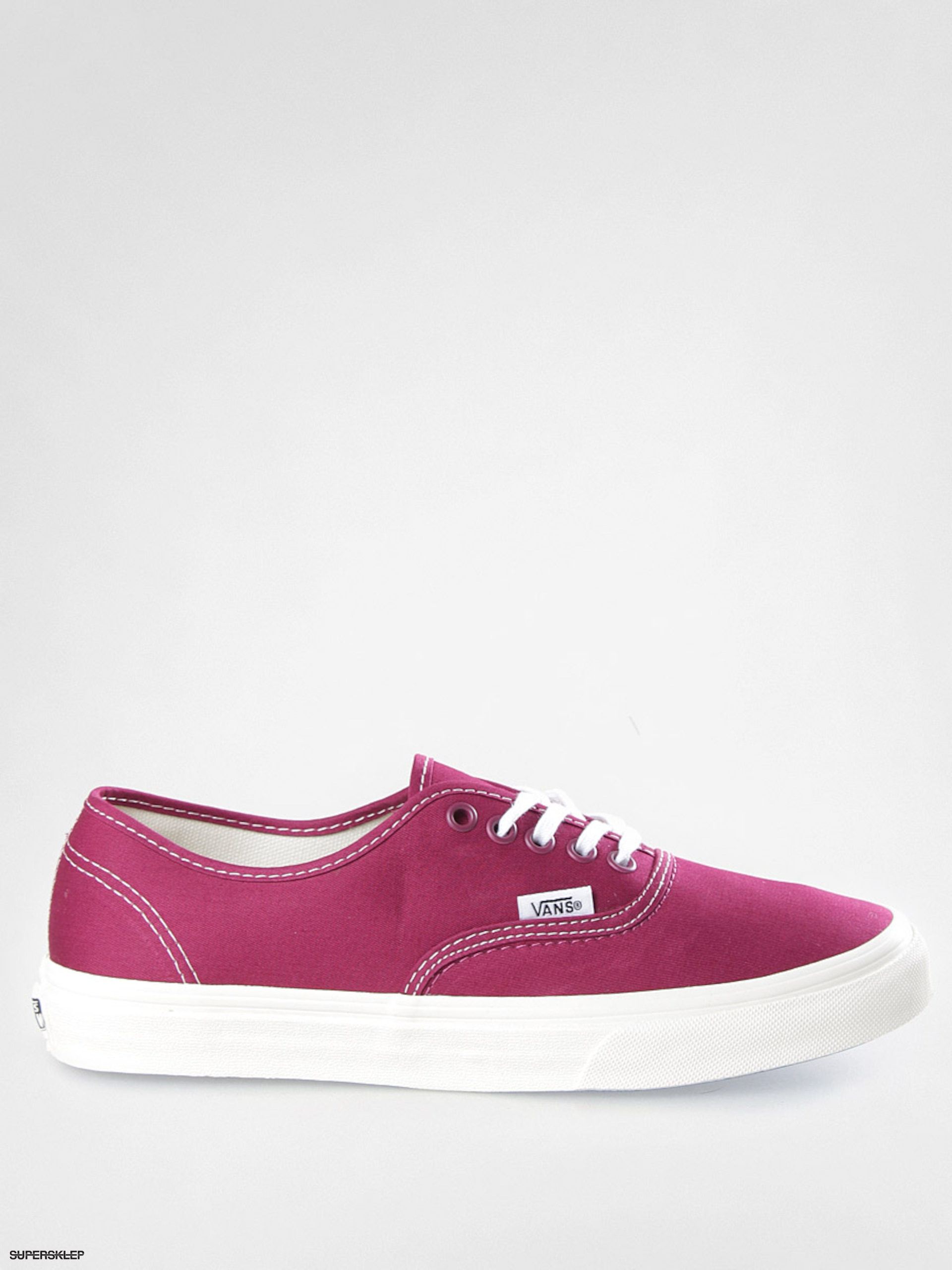 468740863092 Buty Vans Authentic Slim VQEV8W9 (twill red plum)