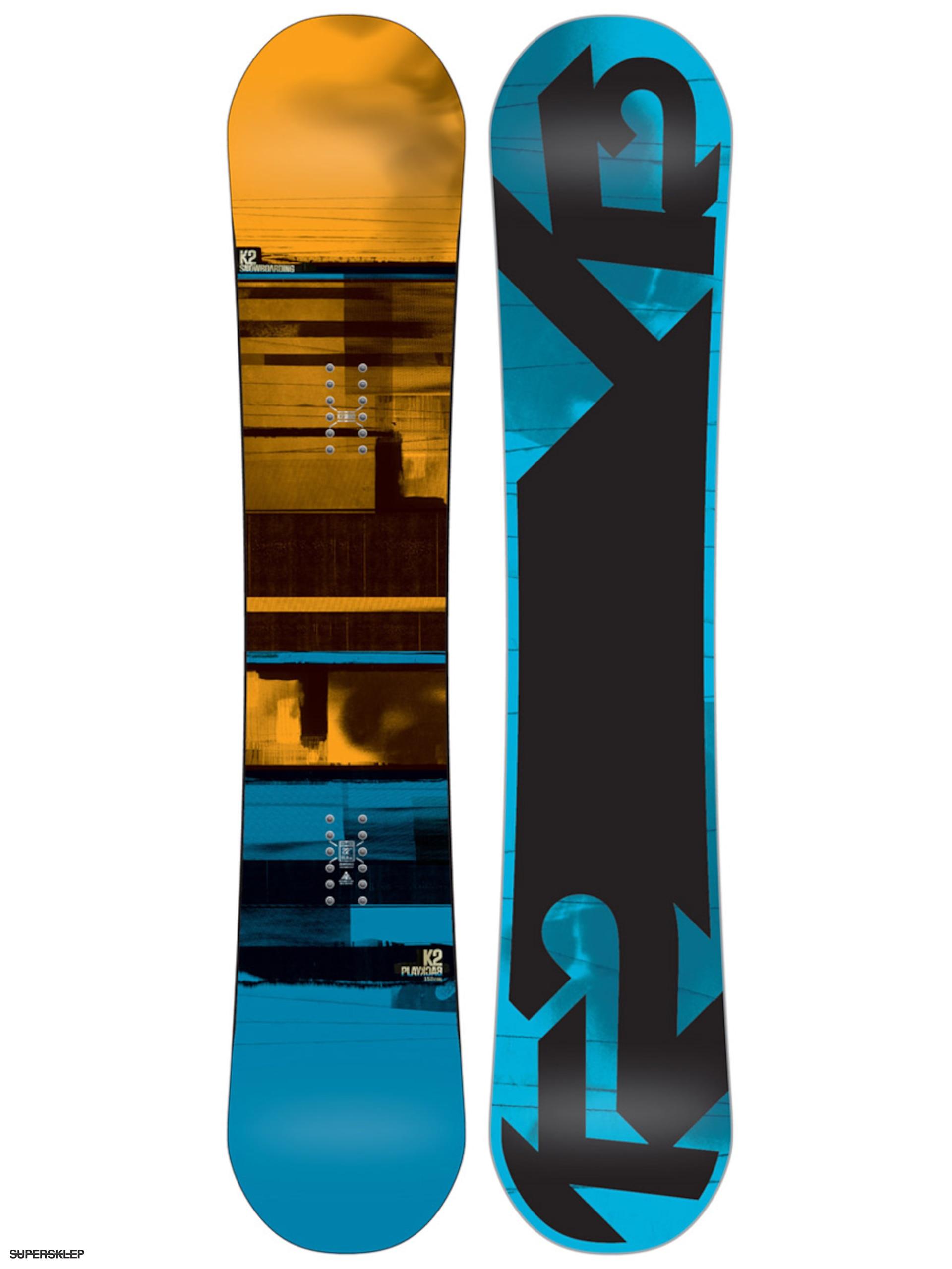 Deska snowboardowa K2 Playback 183fe5c301