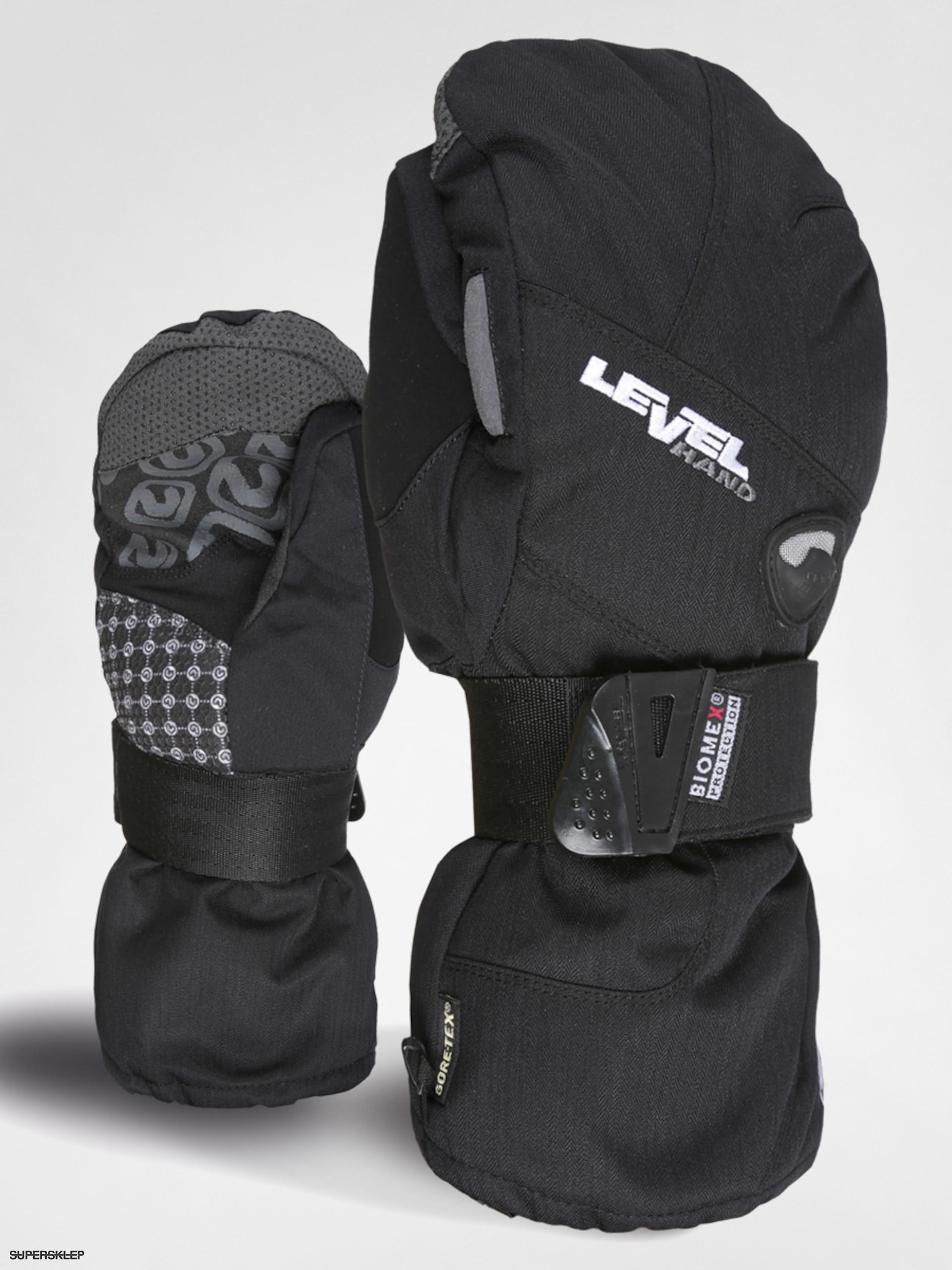 Rękawice snowboardowe Level Half Pipe Mitt XCR (blk)