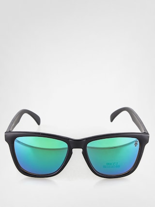 Okulary przeciwsłoneczne Majesty Shades M (matt black/green mirror lens)